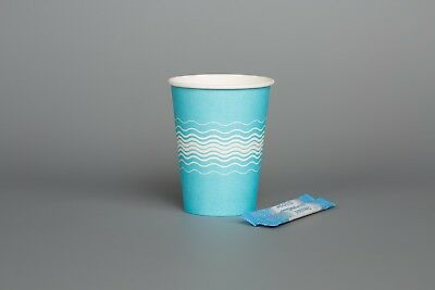 Disposable Party BABY BLUE Paper Cups Events Birthday Christening Catering