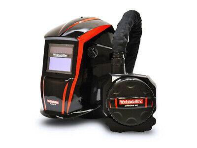 Weldability Phantom Fresh Air Fed PAPR + ADF Welding Helmet