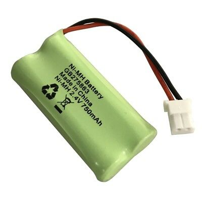 Motorola MBP160 MBP161 Baby Monitor Battery Pack 2.4V 750mAh Ni-MH Rechargeable