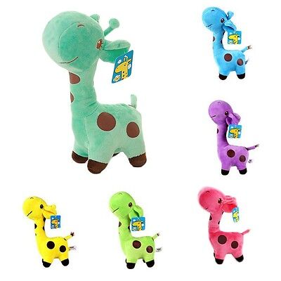 Kids Giraffe Dear Soft Plush Toy Cute Little Baby Stuffed Animal Doll Birthday