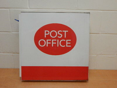 Large Double Sided Post Office Wall Mounted Sign