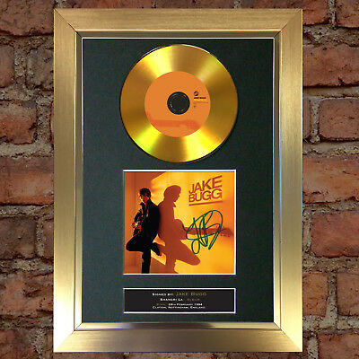 GOLD DISC JAKE BUGG Signed CD Mounted Repro Autograph Photo Print A4 90