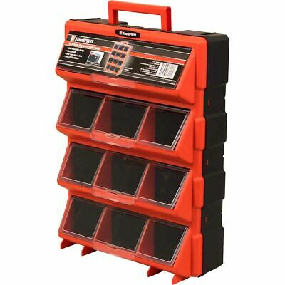 ToolPRO Organiser with Handle - Red, 12 Drawer