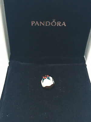 Pandora Sterling Silver Christmas Pudding Charm S925ALE 791412ENMX