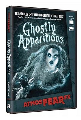 AtmosfearFX Ghostly Apparitions Virtual Halloween Digital Decor