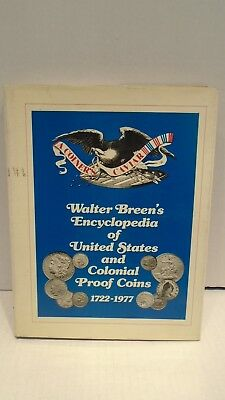 Walter Breens Encyclopedia Of United States and Colonial Proof Coins 1722-1977