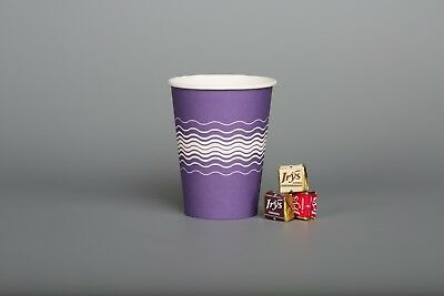 Party Ware Street Parties British Celebrations Paper Cups Royal Purple