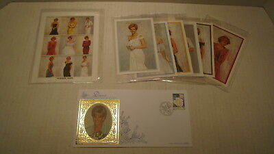 Group Of Princess Diana Stamps Of Togo and First Day Cover Isle Of Man