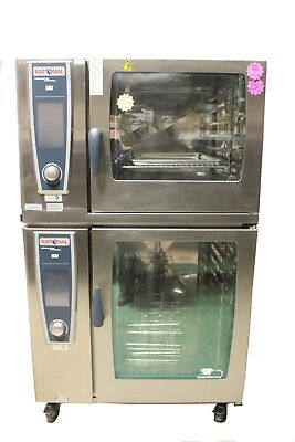 Used Rational Combi Oven/Steamer Stack