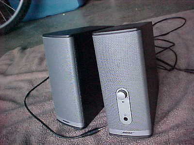 Bose Companion 2 Series II Computer Speakers, Audio Speaker Set With Adaptor