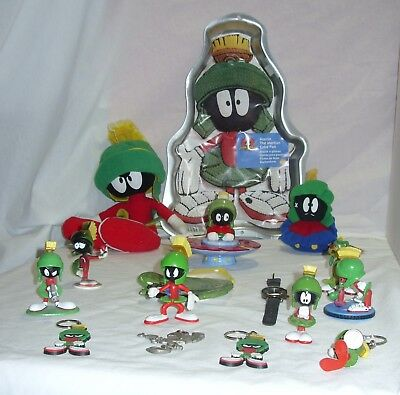 Looney Tunes Marvin the Martian Lot Salt Shaker Plush Figures Warner Brothers
