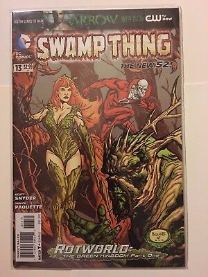 Swamp Thing #13 Scott BATMAN Snyder and Yanick Paquette DC new 52