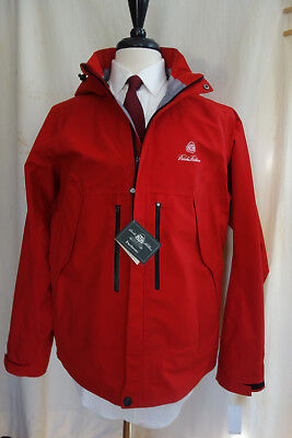 NWT Brooks Brothers Country Club Red ProSport Golf / Rain Jacket Large MSRP $398