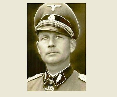German Officer PHOTO World War II Military Force, Army Germany