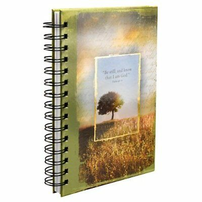 Psalm 46:10 Hardcover Wirebound Journal Spiral-bound