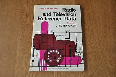 Practical Wireless Radio and Television Reference Data. J.P Hawker. 1963