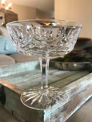 Waterford crystal lismore champagne coupe saucer glass picclick uk - Waterford champagne coupe ...