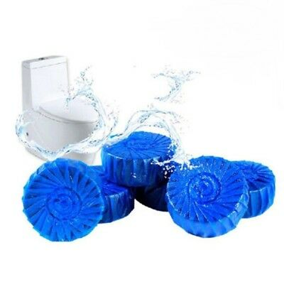 18 Automatic Bleach Toilet Bowl Cleaner Stain Remover Blue Tab Tablet