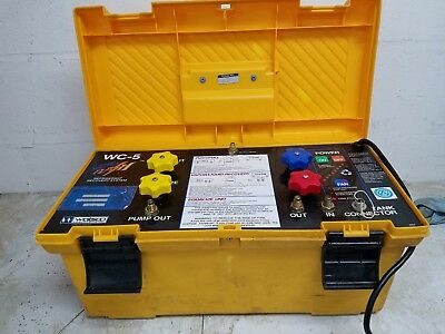 Watsco WC-5 Micro Flash Refrigerant Recovery System.