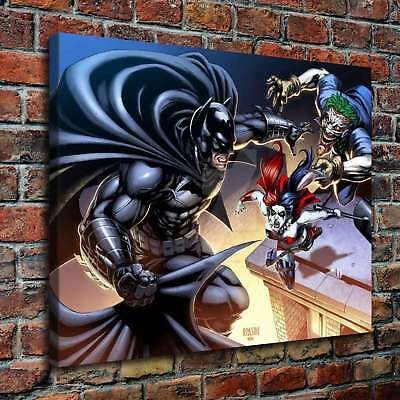 "12""x14""   and Batman Poster HD Prints on Canvas Home Decor Room Wall Art Picture"