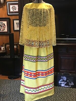 New Seminole Patchwork Skirt And Cape