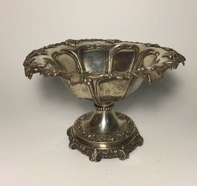 Antique Continental Silver Compote