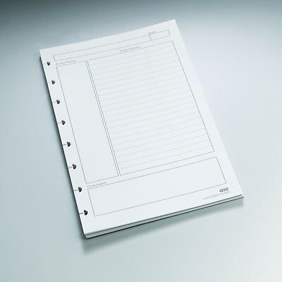Staples Arc Notebook Project Planner Filler Paper, Junior-sized, White, 50
