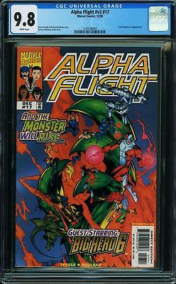 ALPHA FLIGHT v2 #17 BIG HERO 6! CGC 9.8 NM/MT Highest graded Marvel Comics 12/98