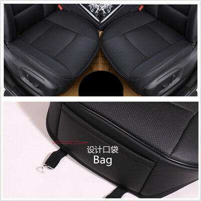 Luxury Car Seat Cover PU Leather Bamboo Charcoal Comfortable For BMW&Toyota&VW