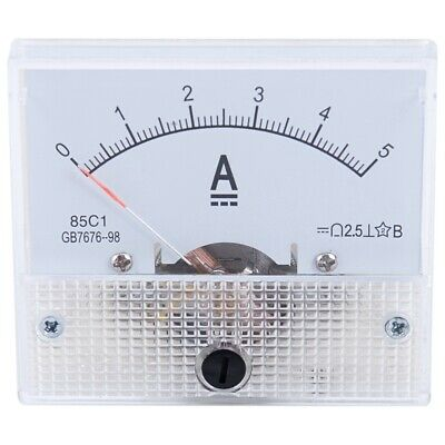 DC 0-100mA Analog Panel Meter Ampere Current Ammeter AMP 100mA 64*56*60mm D5Y1