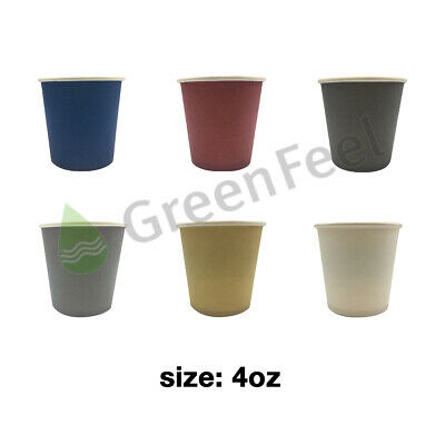4oz Paper Cups Disposable Sampling Espresso Shot Cups Party Ice Cream Catering