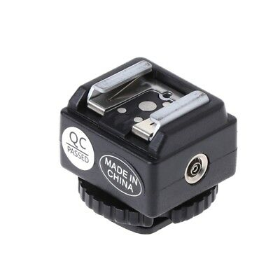 C-N2 Hot Shoe Converter Adapter PC Sync Port Kit For Nikon Flash To Canon Camera