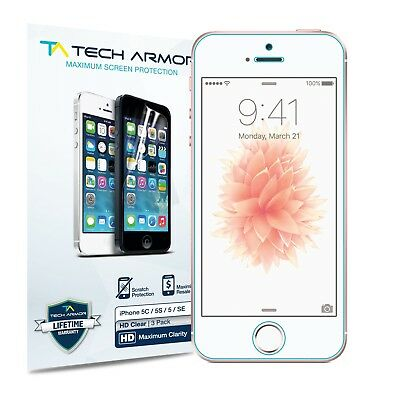 High Definition Clear Screen Protector- iPhone 5/5C/5S/SE