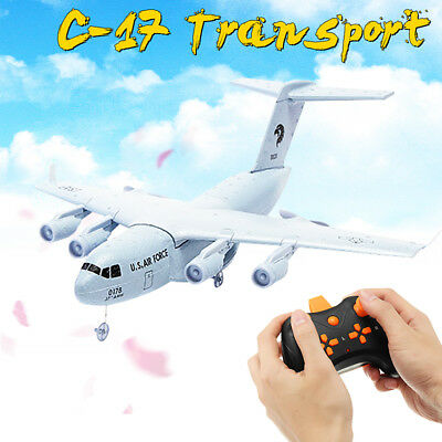 C-17 Transport 373mm EPP DIY RC Airplane Helicopter  716A Motor Control 200M Toy