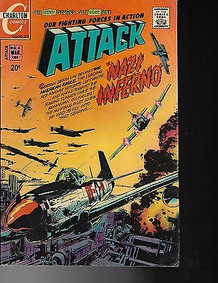 ATTACK War Comics #4/1972 Our fighting Forces in Action  NAZI INFERNO