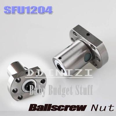 SFU1204 Ballscrew Nut 12mm Ball Screw Single Nut for RM1204 Housing Bracket CNC