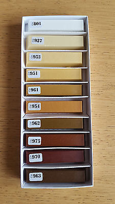 Unika ColorWax Wax Wood Furniture Floor Repair Stick for Chips & Scratches