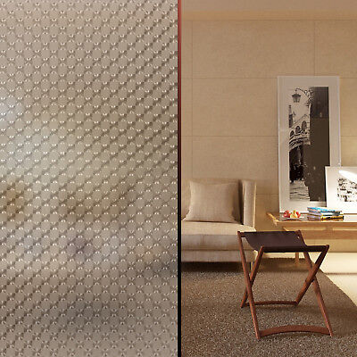 Decorative Window Film Vinyl // Adhesive Frosted Privacy Tint // 15 Designs