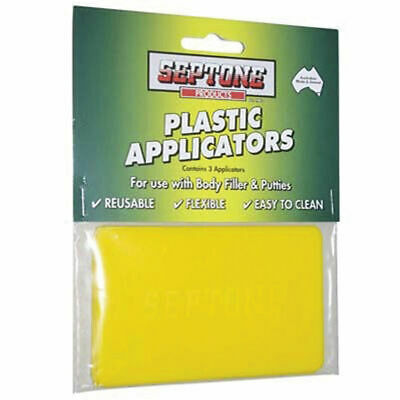 Septone Plastic Applicators - 3 Pack