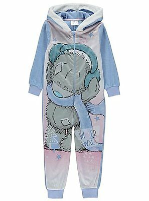 Girls Hooded Ones e Fleece Pyjamas Me to You Tatty Teddy Age's 4-5 Years NEW