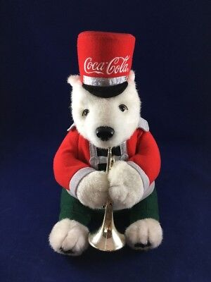 COCA-COLA Trumpet Playing Polar Bear MARCHING BAND Interactive ANIMATION!