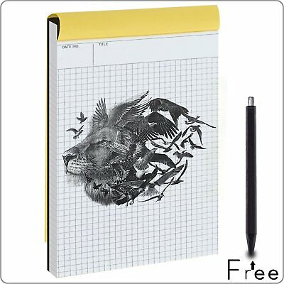 Graph Paper,Notebook ,Quad Ruled Writing Pad, Legal Ruled Pads, Engineering Rule