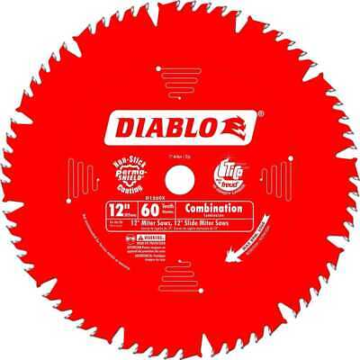 "Diablo D1260X 12"" x 60 Tooth Combination Blade New"