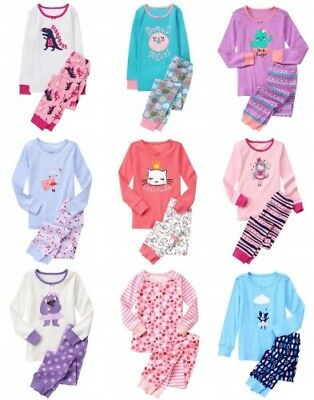 NWT Gymboree Girl Pajamas Long Sleeve Top and Pants Size 3 4 5 6 7 8 10 12 14