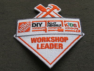 home depot collectibles workshop leader patch