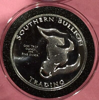Southern Bullion Trading 1 Troy Oz .999 Fine Silver Ag Rare Round Divisible Coin