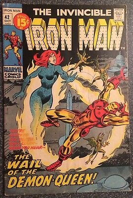 Iron Man #42 (Oct 1971, Marvel)