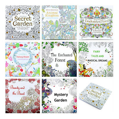 Secret Garden Series Adult Children Color Painting Book Colored pencil Gifts