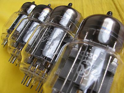 4 x 6S33S (6C33C-B) Hi-End Triode || NEW & NOS || Matched date code || QUAD