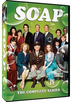SOAP the complete season series 1, 2, 3 & 4. USA region 1. New sealed DVD.